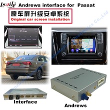 CAR VIDEO Interface Android OBD for 2014~ VW golf7 passat GPS Navigator Touch Screen Function