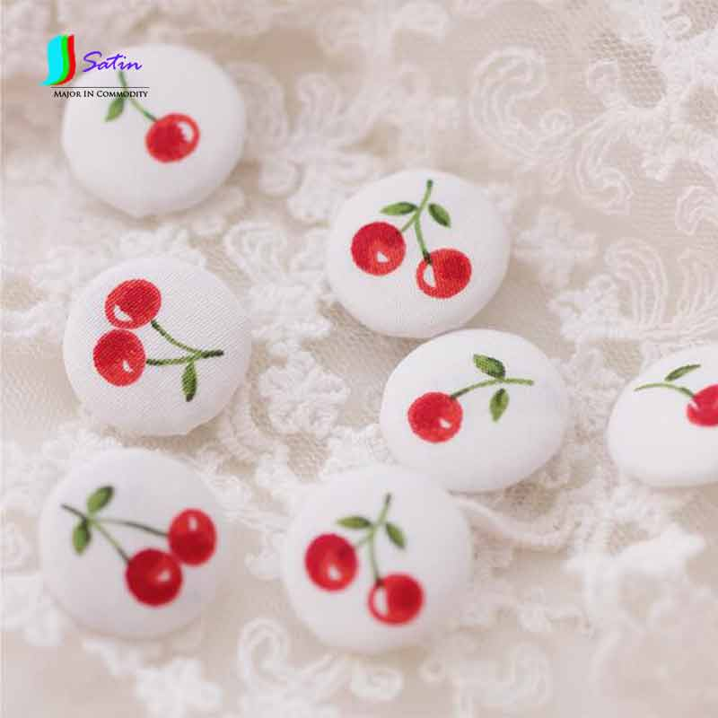 Apparel Sewing & Fabric Sewing Buttons Cherry At Random 2.0cm,cute Womens Dress/shirt Sewing Covered Buttons White Background,2016 New S0067h Up-To-Date Styling Buttons