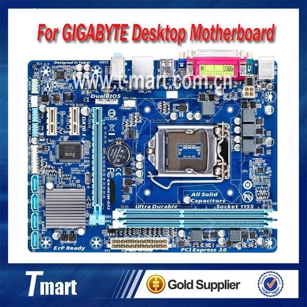 100% working Desktop motherboard for Gigabyte GA-H61M-DS2 System Board fully tested autoprofi agr 110h