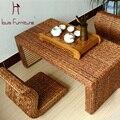 Assentos e cadeiras de mesa de café expresso e café feito por espalhar para sala de estar mobiliário Japão estilo retro