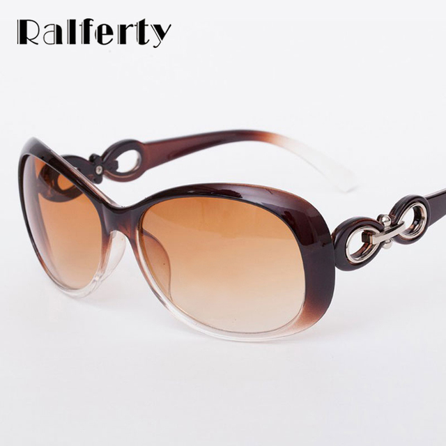 Ralferty Sunglasses Women Luxury Fashion Summer Sun Glasses UV400 Woman Vintage Sunglass Outdoor Goggles Eyeglass Eyewear Points