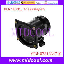 New Air Flow Sensor use OE NO 078133471C 078 133 471C for Audi Volkswagen