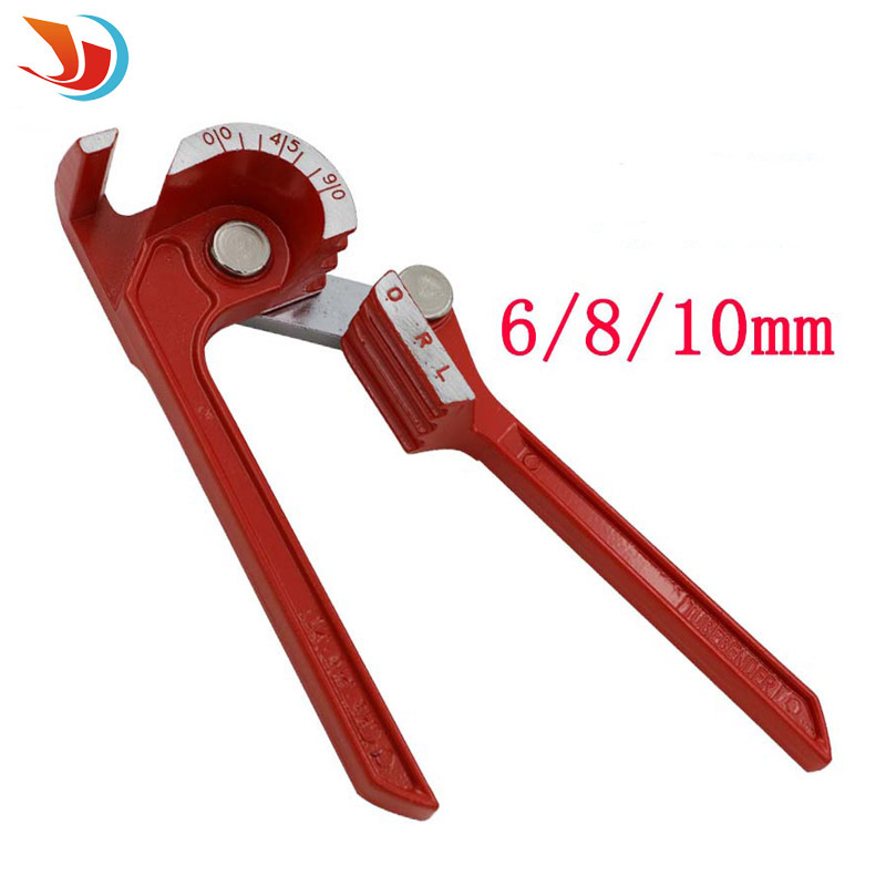 Conditioning copper tube aluminum tube manual pipe bender inch 3/8 5/16 1/4 pipe bending tools