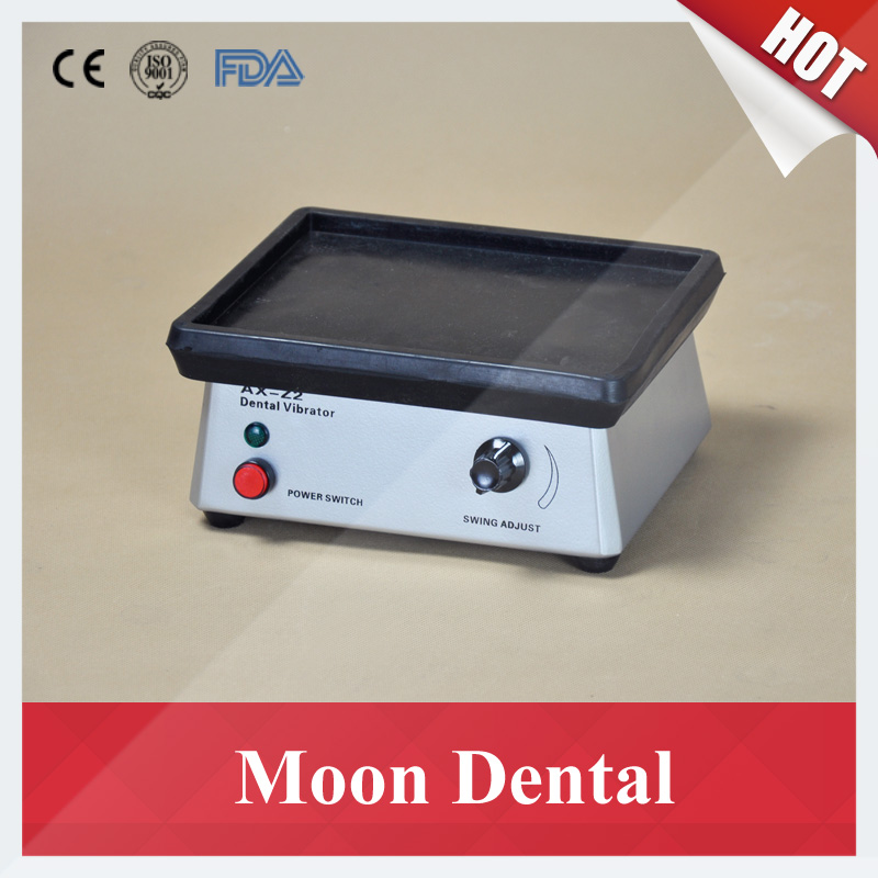 Small Rectangle Dental Lab Equipment AX-Z2 Dental Plaster Vibrator for Reducing Bubbles in Dental Laboratory
