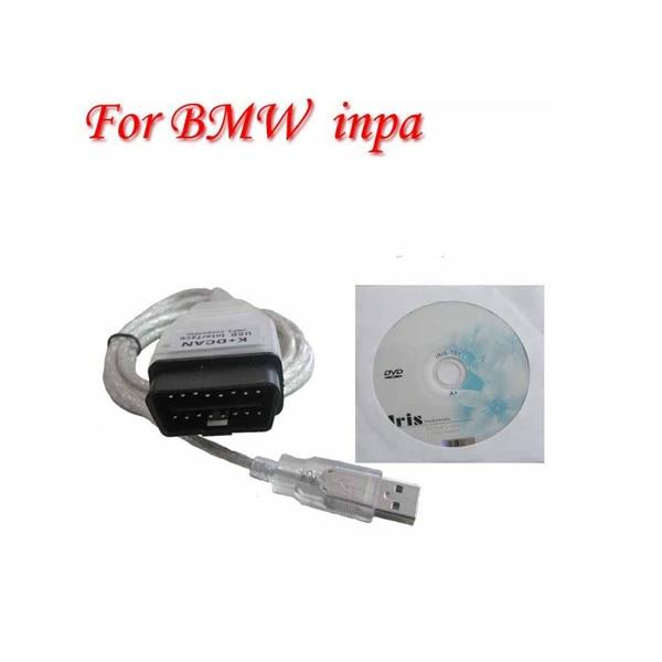 DHL или FedEx 100 шт для BMW INPA k+ can K+ DCAN USB интерфейс с 20pin кабелем