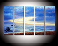 ручная роспись стены искусства стены окна двери украшения дома абстрактный пейзаж маслом на холсте 3 шт./компл. mixorde