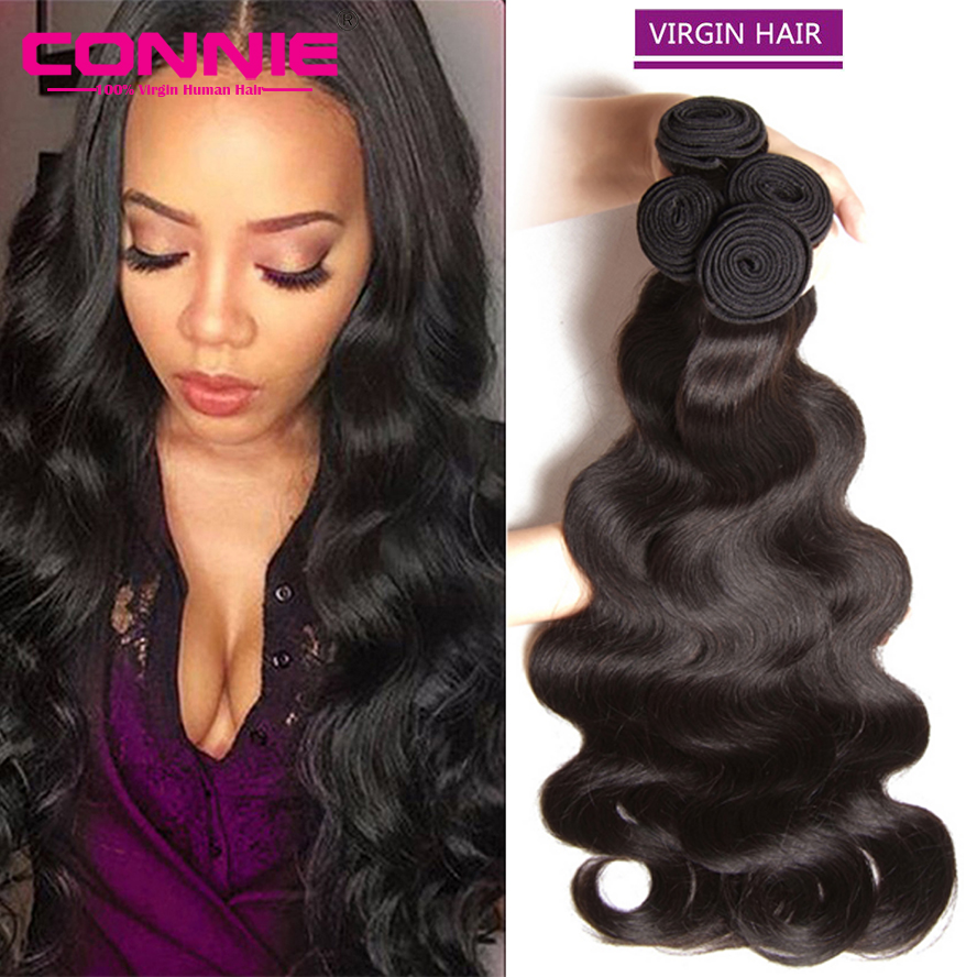 Mink Brazilian Virgin Hair Body Wave 7A Brazilian Body Wave 4 Bundles Human Hair Products Soft Brazilian Hair Weave Bundles