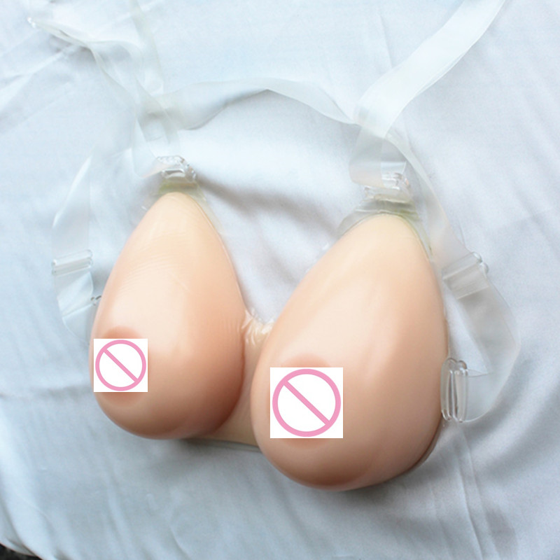 1400g/piece E/F Cup Fake Breast For Crossdresser Being Huge Breast Sexy Women Silicone Breast Soft Lifelike Fake Breast Bra breast light detection device for the breast cancer self check up and breast clinical examination