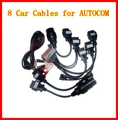 10 шт./лот автомобилей кабели для Вау-шпион автомобиля диагностический интерфейс кабели 8 шт. автомобилей кабели для ТКС CDP про
