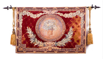 "The European jacquard tapestry Belgium artistic tapestries Sofa backdrop""The olive branch"" 93X138CM GT-GLZ122"