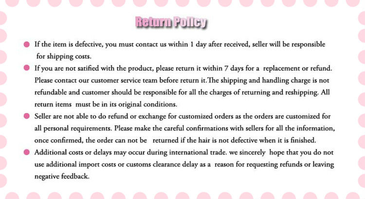 Return policy-1