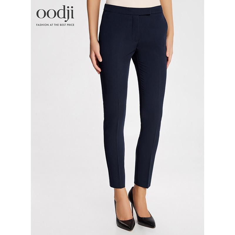 Oodji 2017 женские брюки классические зауженные, бесплатная доставка из россии, 21700201b/38253