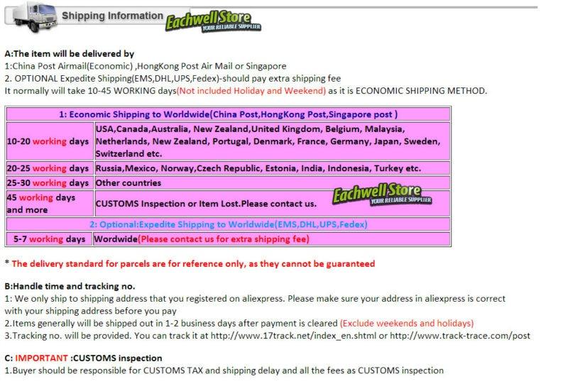 shippinginformation
