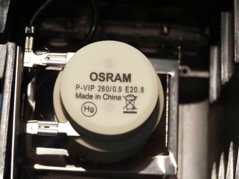 ФОТО Osram P-VIP 280/0.9 E20.8 5J.J4J05.001 Lamp for BenQ SH910 Projector Lamp Bulb with housing Free Shipping