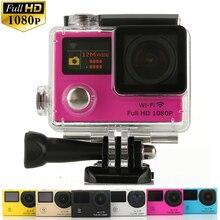 3 Шт./лот, DHL Бесплатно G3 Двойной Экран 2 «+ 0.95» Action Sports Камеры 1080 P Full HD Открытый Путешествие Wi-Fi спорт Камеры 1050 мАч Батареи