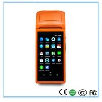 Беспроводной Портативный получения принтер для ресторана с Wi-Fi Bluetooth и gprs сенсорный экран POS машина термопечать sunmi-v1