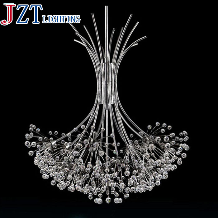 M European Fashion Creative Crystal Chandelier Living Room Bedroom Crystal Lamp American Restaurant Meal Hanging Lamps Lighting a1 master bedroom living room lamp crystal pendant lights dining room lamp european style dual use fashion pendant lamps