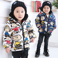 Winter jackets boys cotton camouflage baby boys parkas 2 colors boys hoodies 1-4 years children clothes kids windproof coats