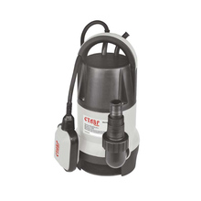 Насос погружной для грязной воды Ставр НПД-1100 (Мощность 1100 Вт, Производительность 217 л/мин, Глубина погружения 8 м, Чугунный корпус, Автоматический поплавковый выключатель)