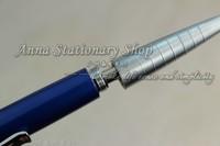 5 шт baoer-32 серебро / красный / фиолетовый / синий / черный шариковая ручка / ручка горячей бесплатная доставка