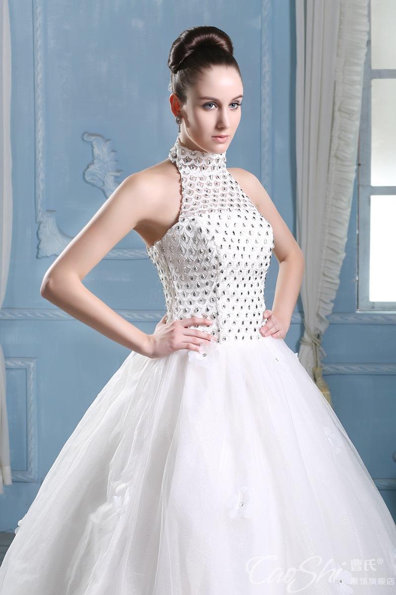 Generous Wedding Dress Halter Top Photos - Wedding Ideas - memiocall.com