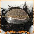 2016 Новое прибытие базы вводят шелк и вокруг pu выглядит очень натуральных волос Индийские волосы мужчины парик бесплатную доставку