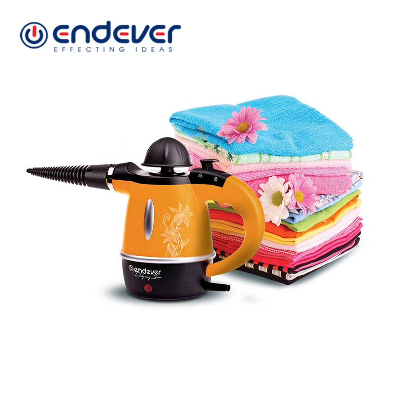 Endever ODYSSEY Q-436 Steam Cleaner Power 1000W With Steam Brush Single Gear  Handheld Cleaner for Clothes Ship From Russia