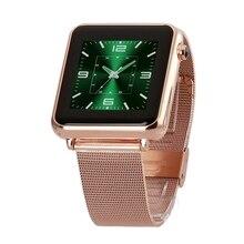 HEIßER Verkauf Smartwatch Fitness Tracker mit HD DP Bluetooth Kompatibel Mit Smart Uhr Kurze Nachricht Telefon Fern SMS Sync