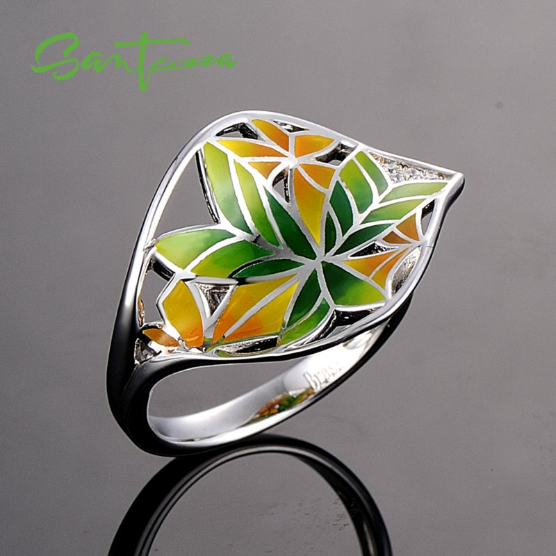 Silver Ring R308607ENABRW-SV1-B
