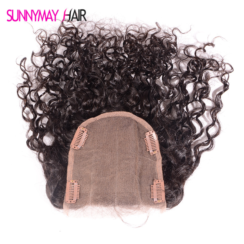 ФОТО Best Virgin Brazilian Clips Human Hair Closure Bleached Knots Three Part Virgin Human Hair Lace Closure With Baby Hair For Sale