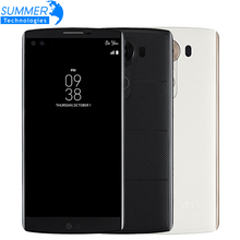 Original Unlocked LG V10 5.7'' 4K 4GB RAM 64GB ROM Smartphone Hexa-core Android 5.1 16.0MP Camera LTE 4G Mobile Phone