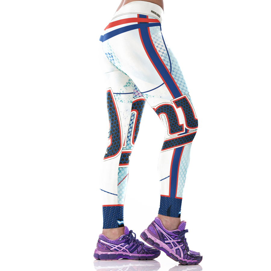 Mujer fibra leggings deporte deportes gigantes medias pantalones ...