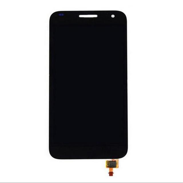 Nueva negro pantalla táctil digitalizador del sensor de cristal + lcd panel de visualización de la pantalla para huawei ascend g7 g7-l01 g7-l03 asamblea reemplazos