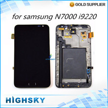 Lcd screen for samsung galaxy N7000 i9220 display +touch digitizer + tools replacement parts accessories 1 piece free shipping