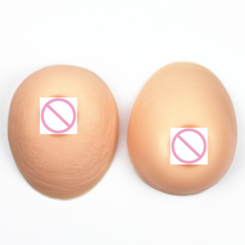 1000g/Pair D/E Cup Fake Sexy Silicone Breast Forms Artificial Boobs Enhancer Shemale Crossdresser Trandsgender Breast Increase