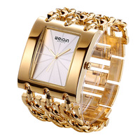 Top Brand WEIQIN Luxury Gold Women Bracelet Watches Crystal Female Watch Ladies Bracelets Fashion Montre Femme