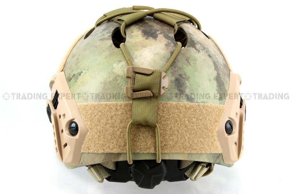 Emerson Fast шлем DIY палубе комплект(коричневый) em8623