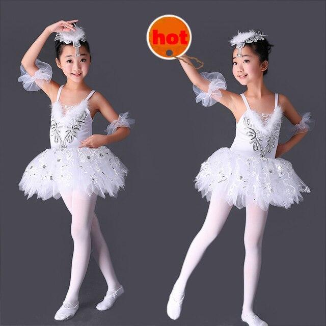 dc02fea66 2016 costumes Ballet clothes Girls Suspenders tutu White veil ...