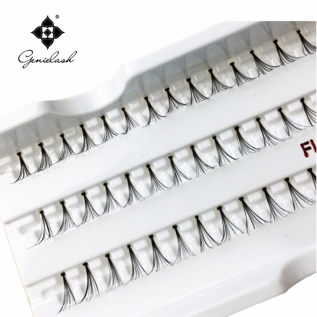 Aliexpress Buy 4 Trays 10mm Individual Flare False Eyelashes