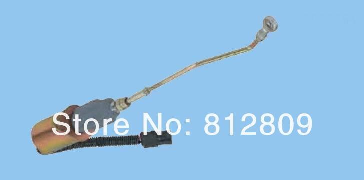 Топливный соленоидный выключатель 3935456 SA-4762-12 для 5.9L, 8.3L дизельный двигатель+ быстрая по DHL, TNT, UPS
