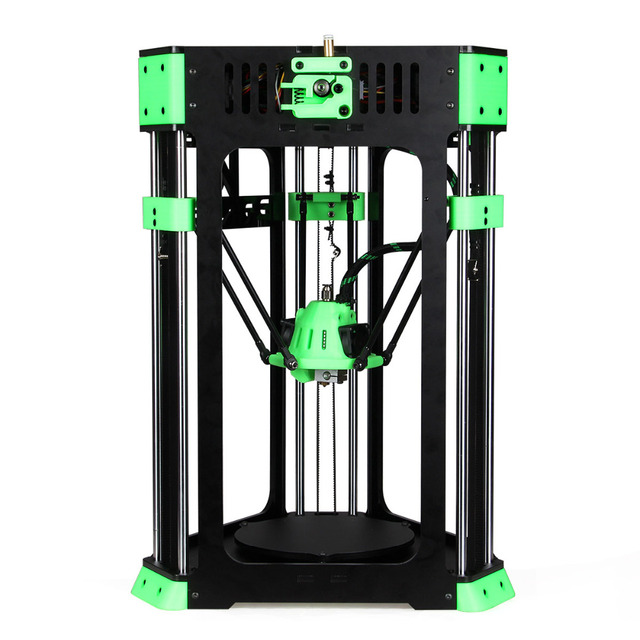 2016 High quality strong frame Delta D130 Mini DIY 3D Printer Kit Desktop Delta Printer with many gifts