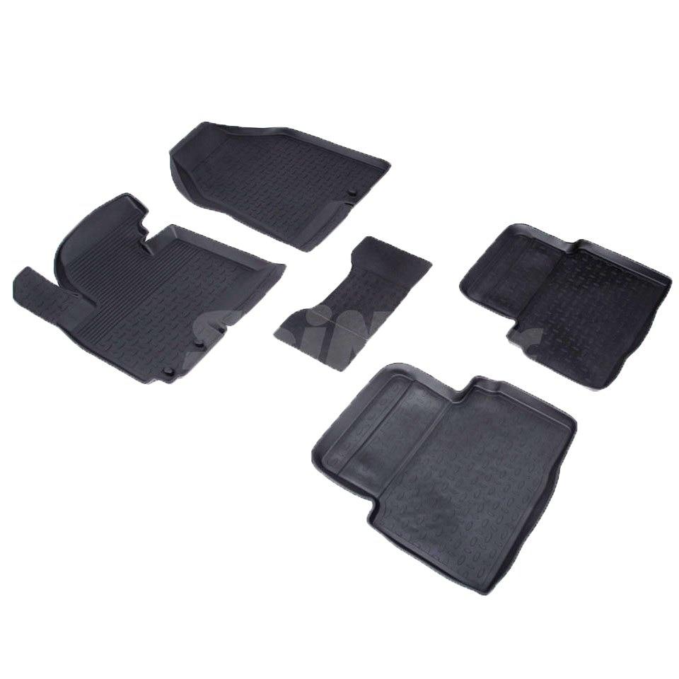 Rubber floor mats for Hyundai ix35 2010 2011 2012 2013 2014 2015 Seintex 71745 mewant black leather beige leathe car steering wheel cover for hyundai ix35 2011 2015 tucson 2 2010 2011 2012 2013 2014 2015