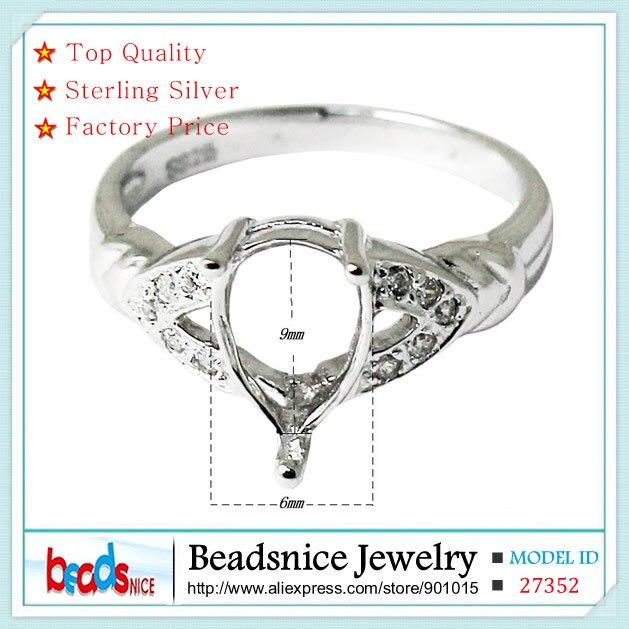 Beadsnice ID27352 Diy 925 sterling silver rings wholesale top