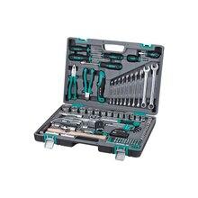 Набор инструментов STELS 14111 (98 предметов из высококачественной стали, кейс в комплекте)