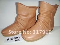 yixizhidi новый стиль плоские каблук из натуральной кожи женщина свободного покроя загрузки 5168a1
