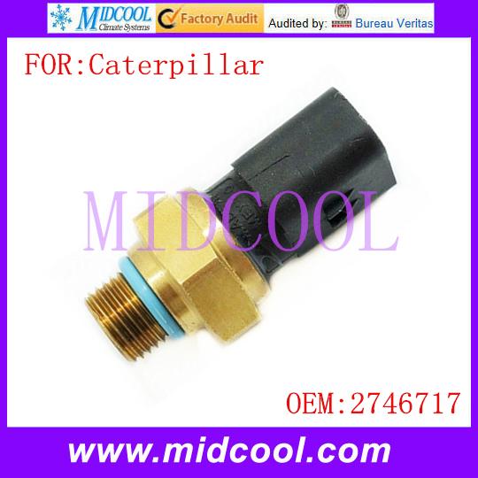 Novo uso OE No. 2746717 para Caterpillar Sensor de Pressão de Combustível Ferroviário