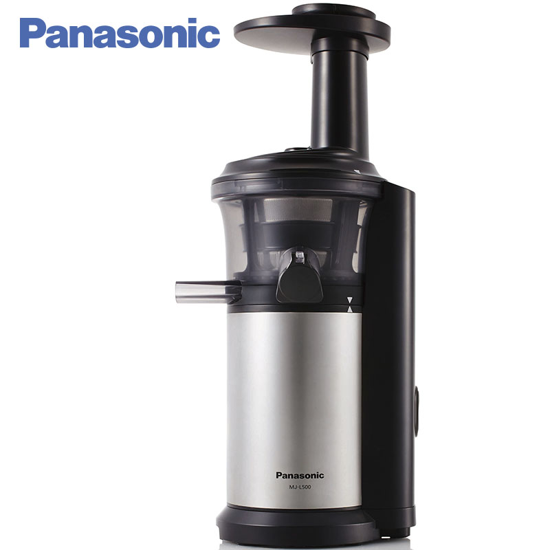 Panasonic MJ-L500STQ Juicer slow 150W 2 speed Automatic release of flesh Self-cleaning Overload protection set brand9100 brand502 juicer multivarka electric digital 5l slow speed fruits vegetable citrus orange slowly extractor