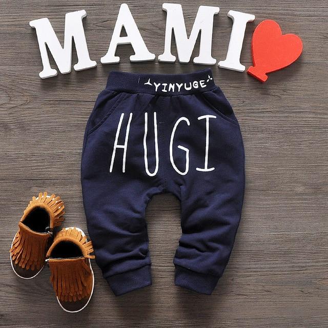 New 2016 baby pants 4 Colors Cotton star pattern kids pants  baby boy girls pants