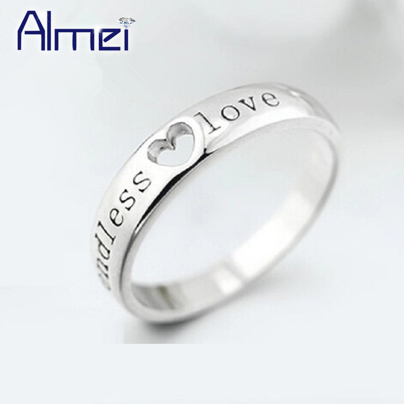 Buy fashion love heart rings for men Trendy womens gifts 2015