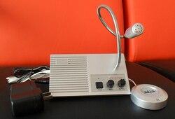 Охранных английская версия двойного способ домофон Системы для банка счетчик касса больницы окна, домофон PA Системы